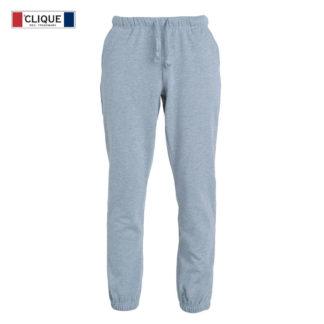 pantaloni basic pants junior bambino grigio melange