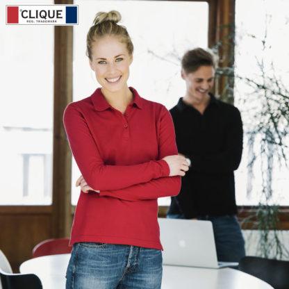 polo classic marion LS donna clique