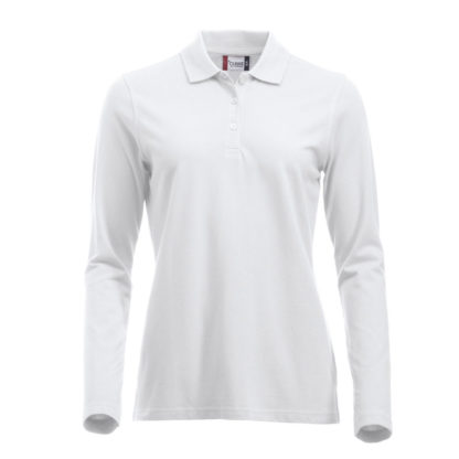 polo marion classic LS donna bianco