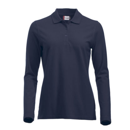 polo marion classic LS donna blu
