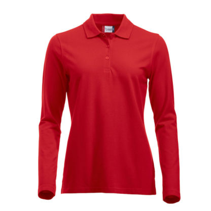 polo marion classic LS donna rosso