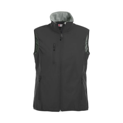 softshell basic softshell vest donna nero
