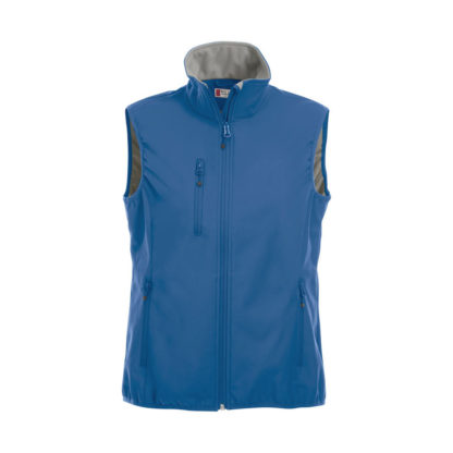 softshell basic softshell vest donna royal blue