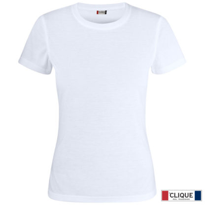 t-shirt tecnica donna neon-t bianco