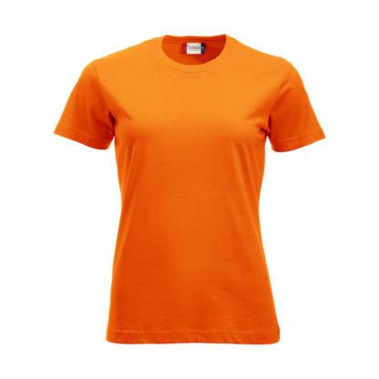 t-shirt new classic-t donna arancio high visibility