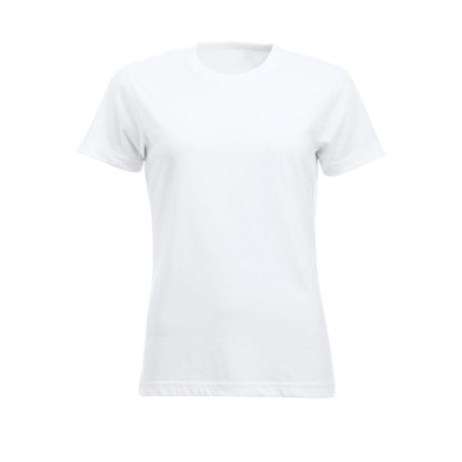 t-shirt new classic-t donna bianco