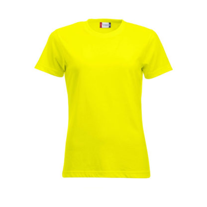 t-shirt new classic-t donna giallo high visibility