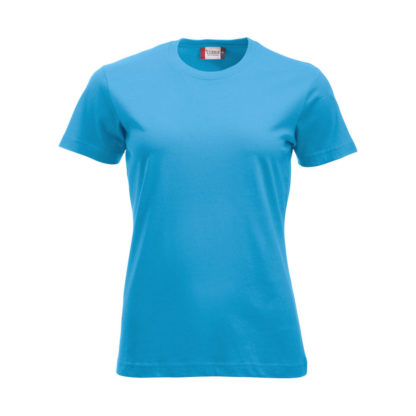 t-shirt new classic-t donna turchese