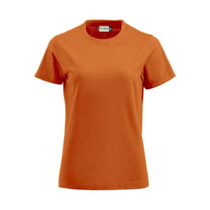 t-shirt premium-t donna arancione