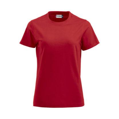 t-shirt premium-t donna rosso