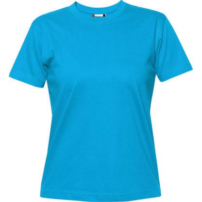 t-shirt premium-t donna turchese