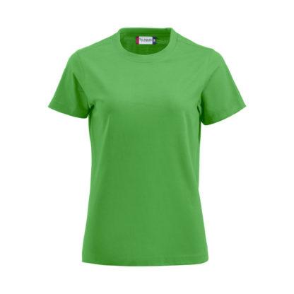 t-shirt premium-t donna verde acido