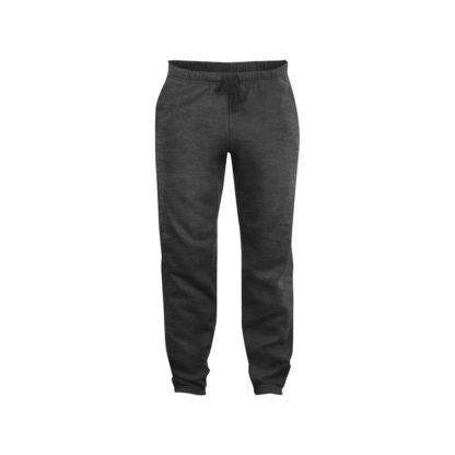 pantaloni basic pants unisex antracite melange