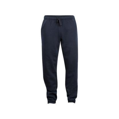 pantaloni basic pants unisex blu