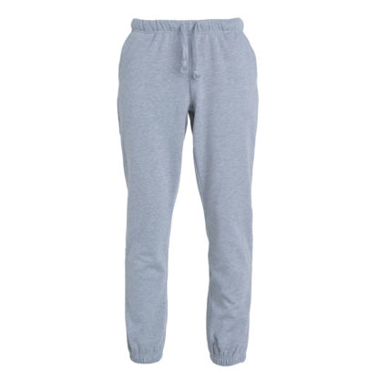pantaloni basic pants unisex grigio melange