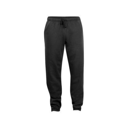 pantaloni basic pants unisex nero