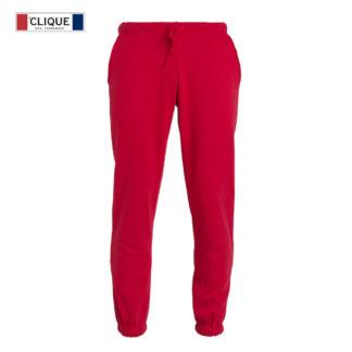 pantaloni basic pants unisex rosso