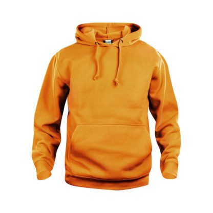 felpa basic hoody unisex arancio high visibility