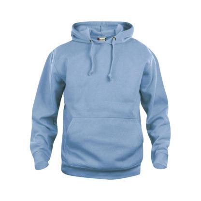 felpa basic hoody unisex azzurro