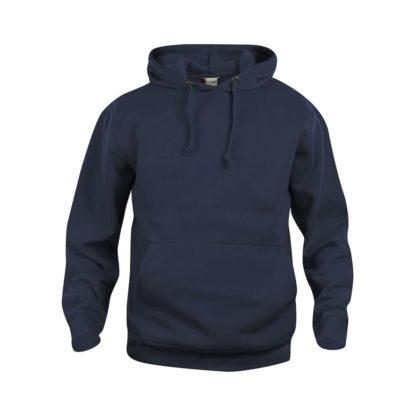 felpa basic hoody unisex blu