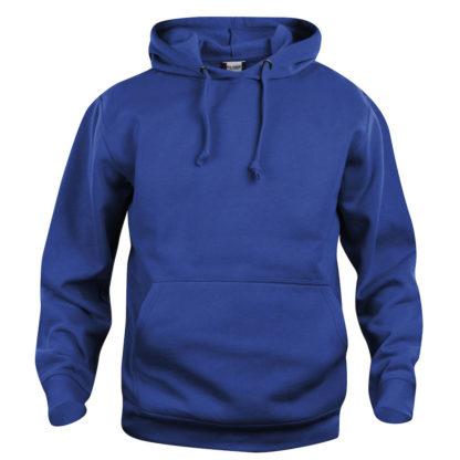 felpa basic hoody unisex cobalto