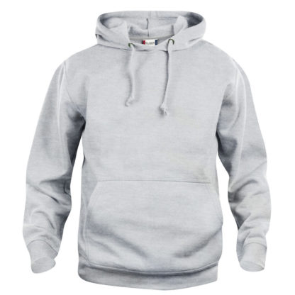 felpa basic hoody unisex grigio cenere
