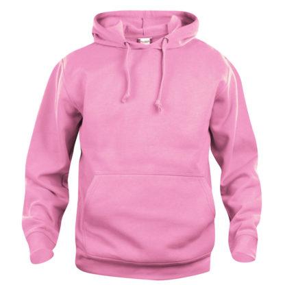felpa basic hoody unisex rosa