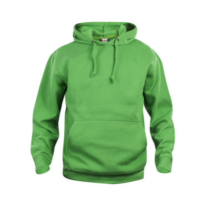 felpa basic hoody unisex verde acido