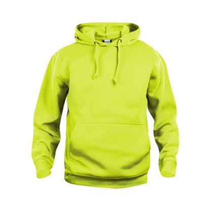 felpa basic hoody unisex verde intenso