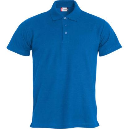 polo basic uomo royal blue