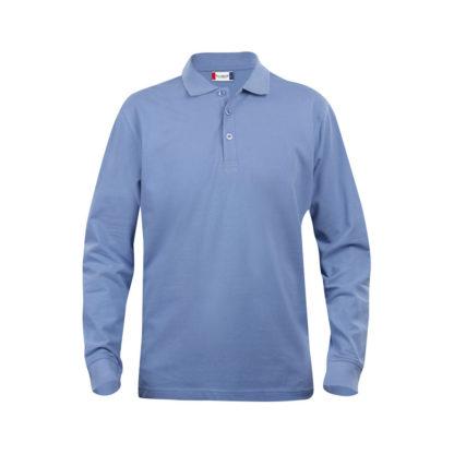 polo classic lincoln LS uomo azzurro