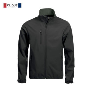 softshell basic softshell jacket uomo nero