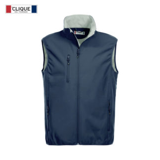 softshell basic softshell vest uomo blu