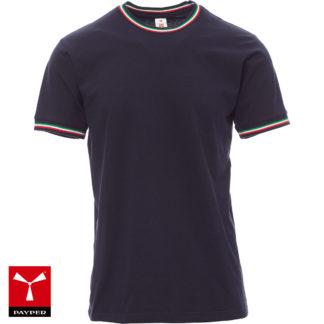 tshirt flag uomo payper BLACK/ITALY