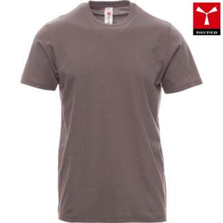 tshirt print uomo steel grey