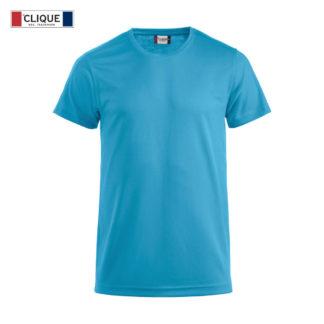 t-shirt tecnica uomo ice-t turchese