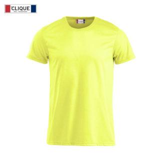 t-shirt tecnica uomo neon-t giallo high visibility
