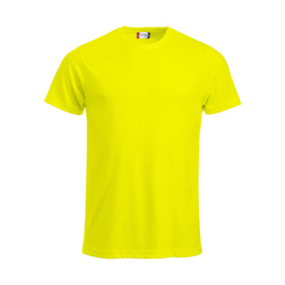 t-shirt new classic-t uomo giallo high visibility
