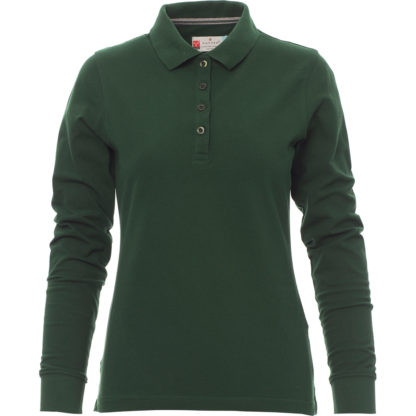 polo florence lady donna GREEN