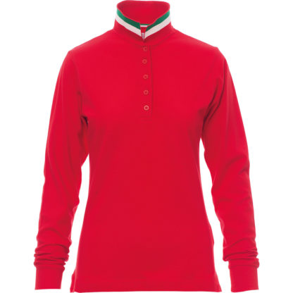 polo long nation lady RED