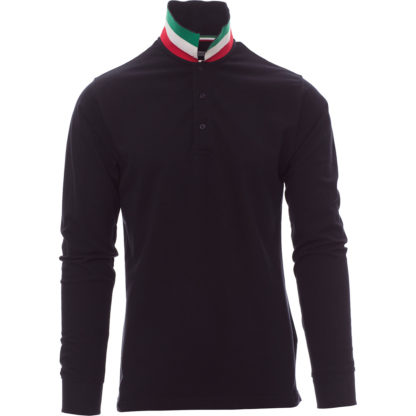 polo long nation uomo NAVY BLUE