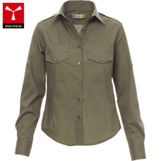 camicia trophy lady donna MILITARYGREEN
