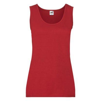 canotta donna ladiesvalueweightvest red 40