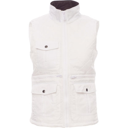 gilet gate lady donna WHITE