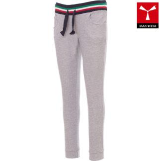 pantaloni felpa freedom lady donna MELANGEGREYITALY