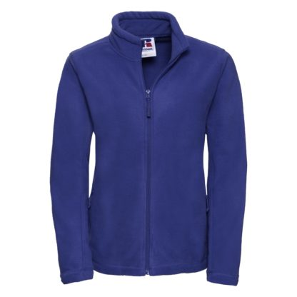 pile donna fullzipoutdoorfleece BRIGHTROYAL