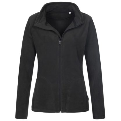 pile donna activefleecejacket BLACKOPAL