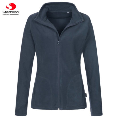 pile donna activefleecejacket BLUEMIDNIGHT