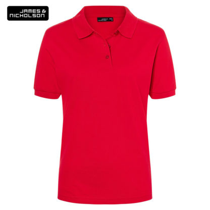 polo donna classicpololadies RED