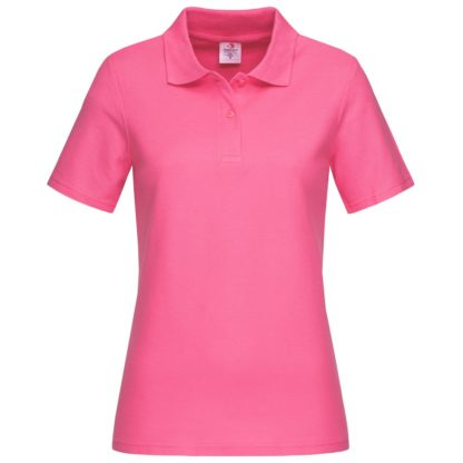 polo donna st3100 SWEETPINK